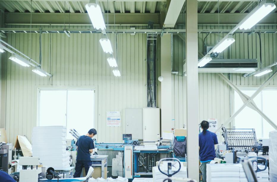 Printing Management 印刷フローと品質管理体制