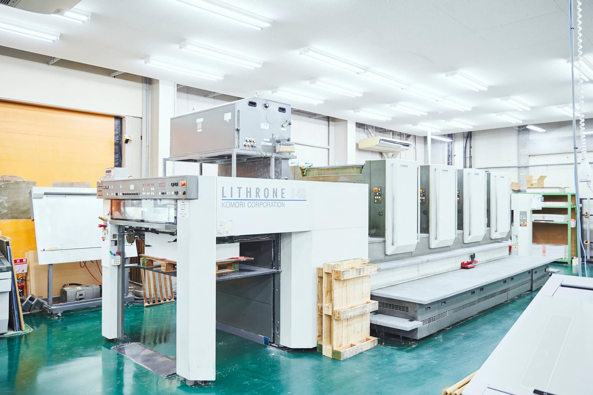 印刷機の生産性