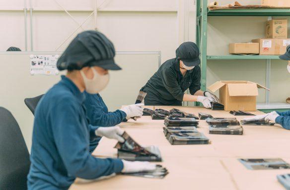印刷から封入、発送代行まで、ホーナンドーは全工程を一貫対応